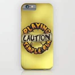 Temple Run iPhone Case