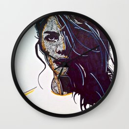 Focused Wall Clock