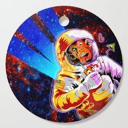 SPACE CHIMP Cutting Board