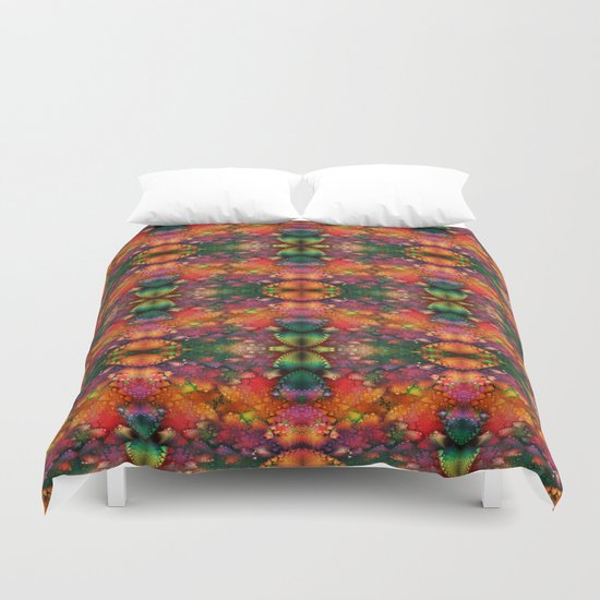 Dragon's tail pattern Duvet Cover