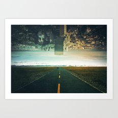 Roads Ahead Art Print