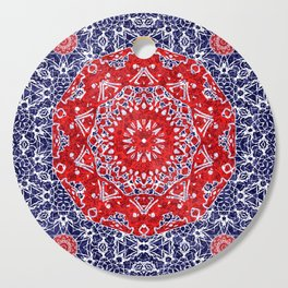 Maltesse Mandala Bandana Cutting Board