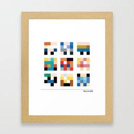 Hey Arnold Framed Art Print