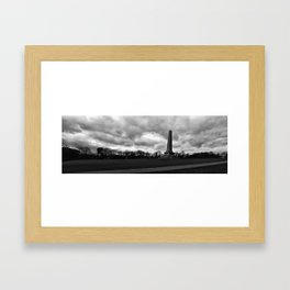 The Wellington Monument Framed Art Print