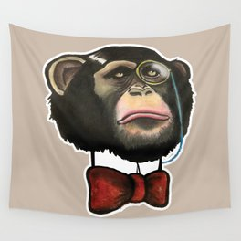 High Society - Dr. J.H. Bananingsby Wall Tapestry