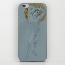 male nude halo iPhone Skin