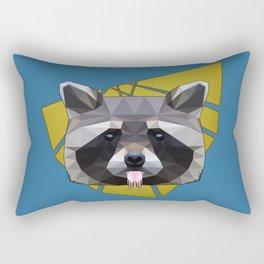 Naughty Raccoon Rectangular Pillow