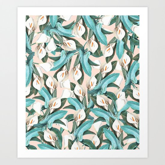 Floral Porn #society6 #lifestyle #buyart Art Print