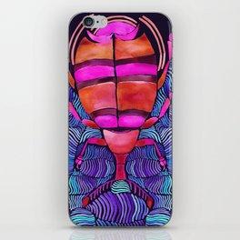 Watercolor Beetle on Water Dreaming iPhone Skin