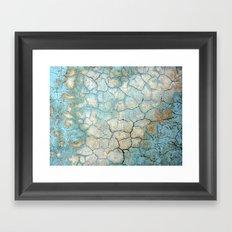 Corroded Beauty Framed Art Print