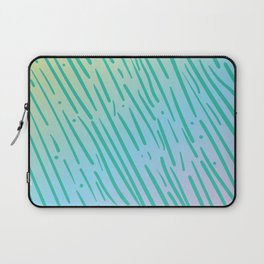 Rainbow Tiger Stripe Pattern - Inspired by the 90s Laptop Sleeve