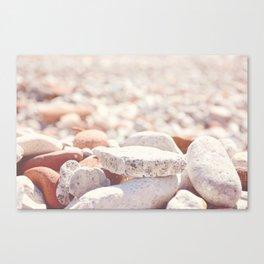 AFE Beach Rocks, Beach Photography Canvas Print