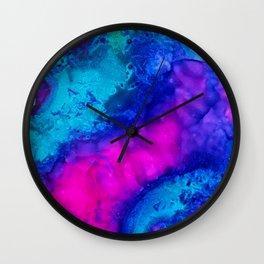 Green Mermaid Wall Clock