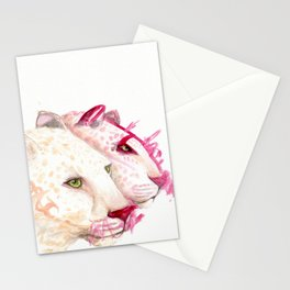Leopards - A Collaboration with my Toddler Stationery Cards