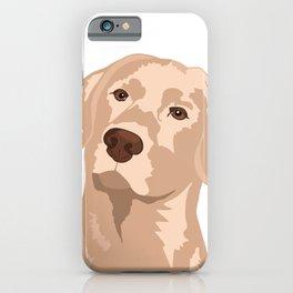 Goldie the Golden Lab iPhone Case