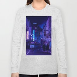Tokyo Nights / Red Light District / Liam Wong Long Sleeve T-shirt