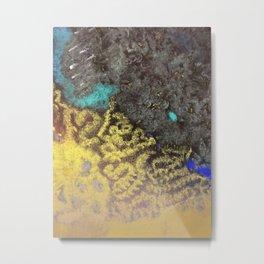 Seaside Painting Metal Print