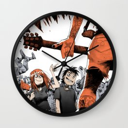 Vegan HxC Wall Clock