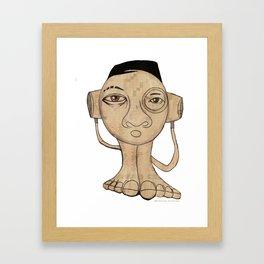 2013 33 minutes Framed Art Print