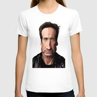 celebrity T-shirts featuring Celebrity Sunday ~ David Duchovny by rob art | illustration