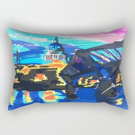 St Paul's Cathedral Rectangular Pillow