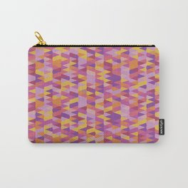 Pointy-Fiesta colorway Carry-All Pouch