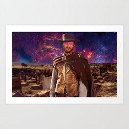 Space Western Art Print