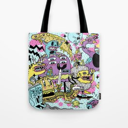 The Adventures of Rad Story Tote Bag