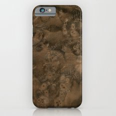 Walnut Burl Wood Slim Case iPhone 6