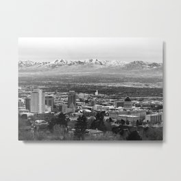 SLC Panorama Metal Print
