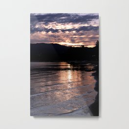 Cotton Candy Sunrise - South Lake Tahoe, California Metal Print