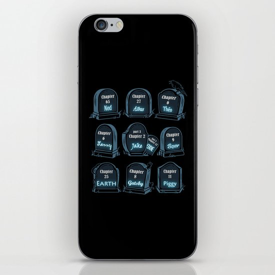 Spoiler Graveyard iPhone & iPod Skin