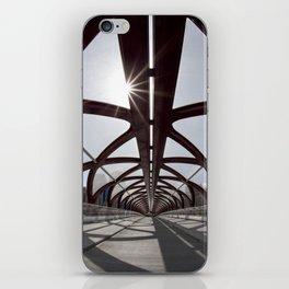 Calgary Peace Bridge; great Architecture iPhone Skin