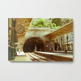 Porto Train Station Metal Print