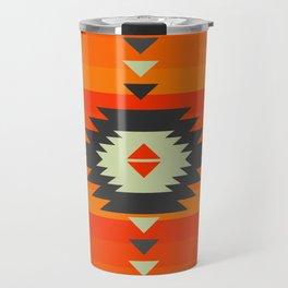 Southwestern in orange and red Travel Mug