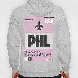 PHL Philadelphia airport code Hoody