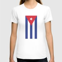 cuba T-shirts featuring Cuba Live by McGrathDesigns