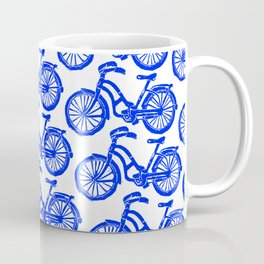 roule ma poule - wanna ride my bicycle BLUE Coffee Mug