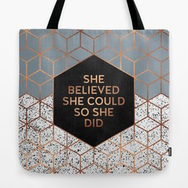 She Believed She Could 4 Tote Bag