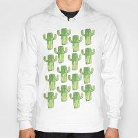cacti Hoodies featuring cacti by kristinesarleyart