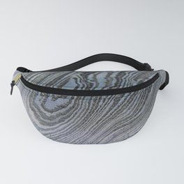 Pale Damascus Steel Fanny Pack