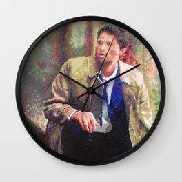 Supernatural: Castiel Wall Clock