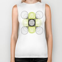 lee pace Biker Tanks featuring spirals pace by Gaspart