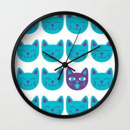 Cat Tongue Wall Clock