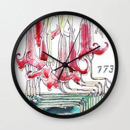 Pteris Serrulata Wall Clock