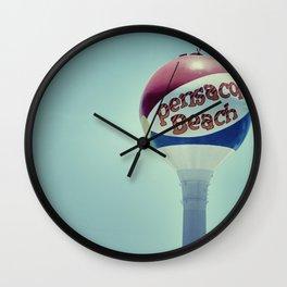 Happy Beach Wall Clock