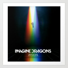 Imagine Dragon Evolve Art Print