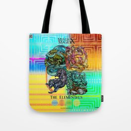 Mysticx & Magick: The Japanese Elemental Gods - Art Cover Tote Bag
