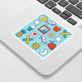Summer vacation Sticker