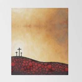 Forgiven - Christian Art By Sharon Cummings Throw Blanket